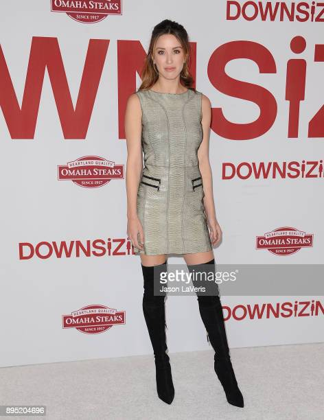 Actress Melissa Bolona attends the premiere of Downsizing at Regency Village Theatre on December 18 2017 in Westwood California