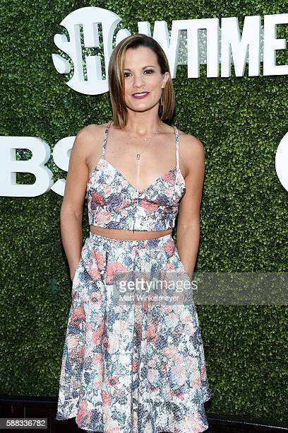 Actress Melissa Claire Egan arrives at the CBS CW Showtime Summer TCA Party at Pacific Design Center on August 10 2016 in West Hollywood California