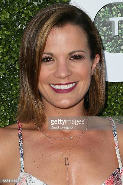 Actress Melissa Claire Egan arrives at the CBS CW Showtime Summer TCA Party at the Pacific Design Center on August 10 2016 in West Hollywood...