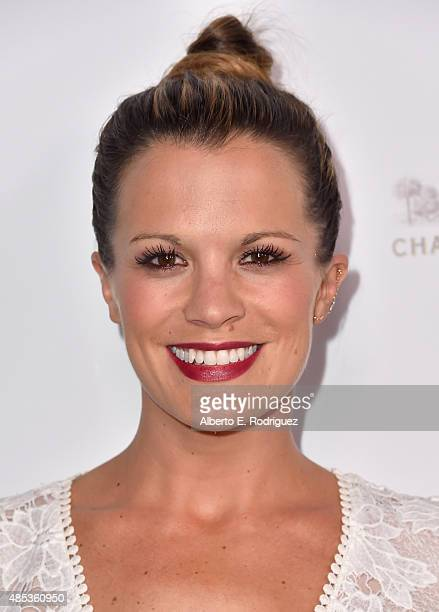 Actress Melissa Claire Egan attends a cocktail reception hosted by the Academy of Television Arts Sciences celebrating the Daytime Peer Group at...