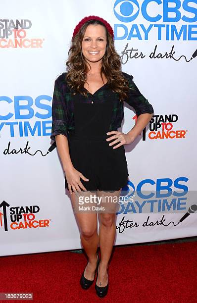 Actress Melissa Claire Egan attends CBS Daytime After Dark at The Comedy Store on October 8 2013 in West Hollywood California