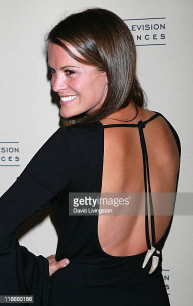 Actress Melissa Claire Egan attends the 2011 Daytime Emmy Awards nominees cocktail reception at SLS Hotel Beverly Hills on June 16 2011 in Beverly...
