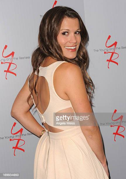 Actress Melissa Claire Egan attends the 40 years of The Young and The Restless celebration presented by SAGAFTRA at SAGAFTRA on June 4 2013 in Los...