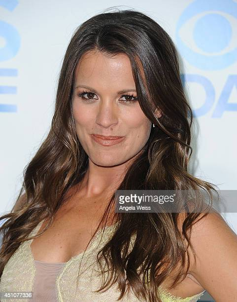 Actress Melissa Claire Egan attends the 41st Annual Daytime Emmy Awards CBS after party at The Beverly Hilton Hotel on June 22 2014 in Beverly Hills...