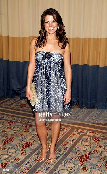 Actress Melissa Claire Egan attends the 4th Annual ABC Daytime Salutes Broadway Cares / Equity Fights Aids Benefit at the Marriott Marquis on March 2...