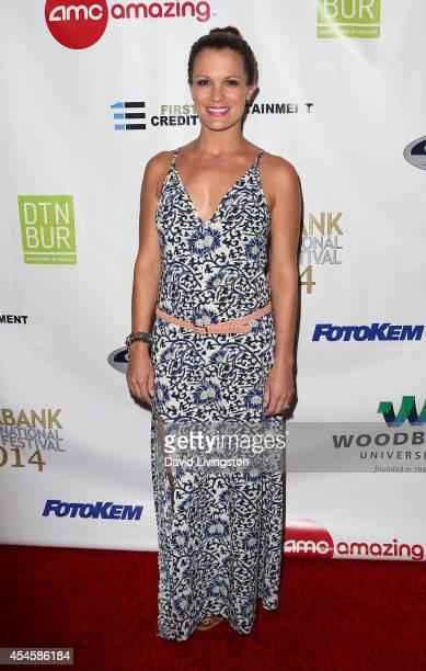 Actress Melissa Claire Egan attends the Burbank International Film Festival opening night at AMC Burbank 16 on September 3 2014 in Burbank California