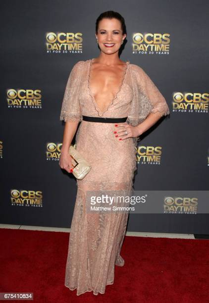 Actress Melissa Claire Egan attends the CBS Daytime Emmy after party at Pasadena Civic Auditorium on April 30 2017 in Pasadena California