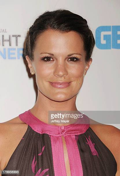 Actress Melissa Claire Egan attends the Generosity Water's 5th annual night of Generosity benefit held at the Beverly Hills Hotel on September 6 2013...