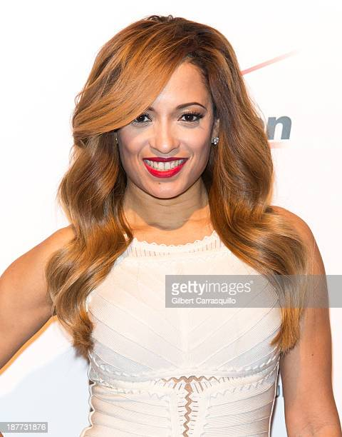 Actress Melissa De Sousa attends The Best Man Holiday screening at Chelsea Bow Tie Cinemas on November 11 2013 in New York City