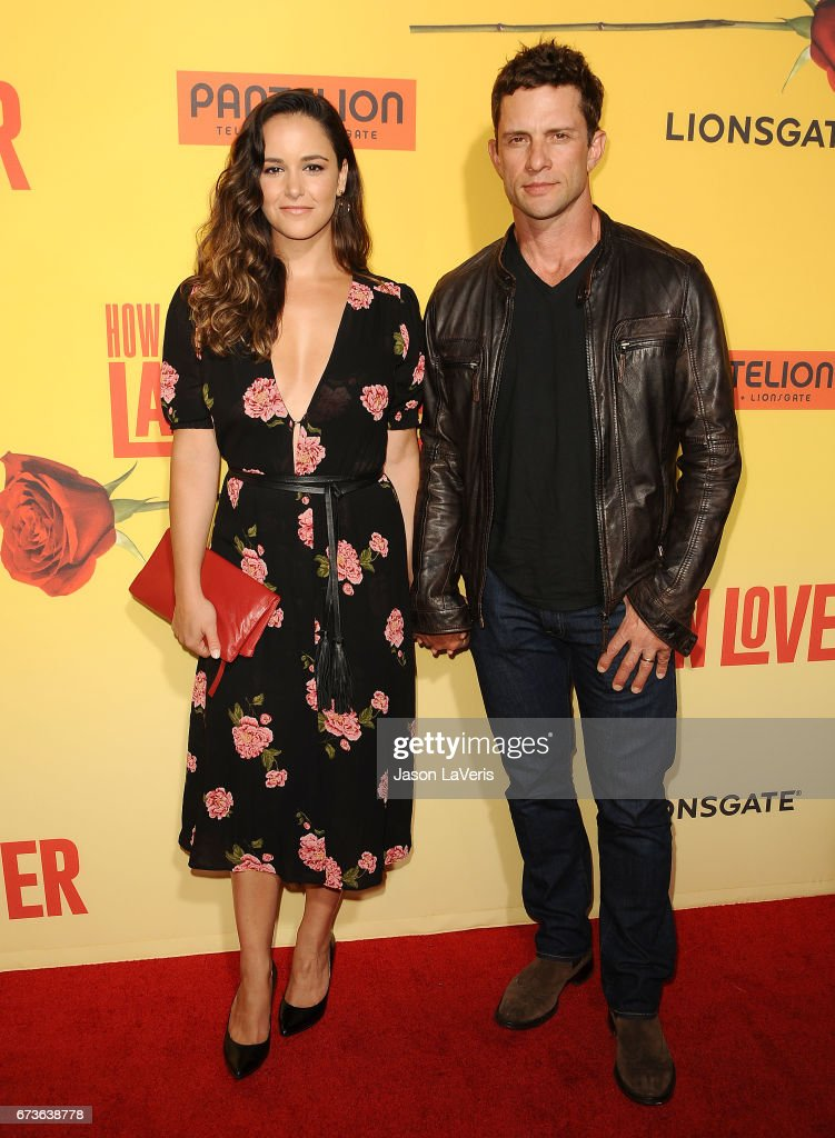 Actress Melissa Fumero and actor David Fumero attend the premiere of 'How to Be a Latin Lover' at ArcLight Cinemas Cinerama Dome on April 26, 2017 in Hollywood, California.
