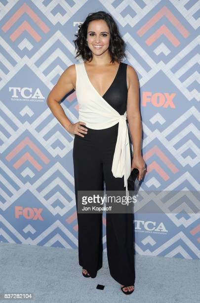 Actress Melissa Fumero arrives at the 2017 Fox Summer TCA Tour at the Soho House on August 8 2017 in West Hollywood California