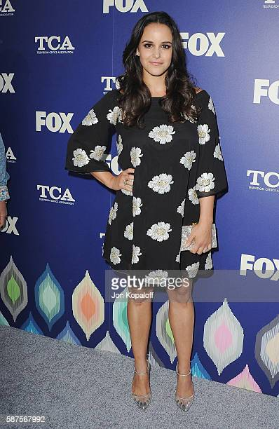 Actress Melissa Fumero arrives at the FOX Summer TCA Press Tour on August 8 2016 in Los Angeles California