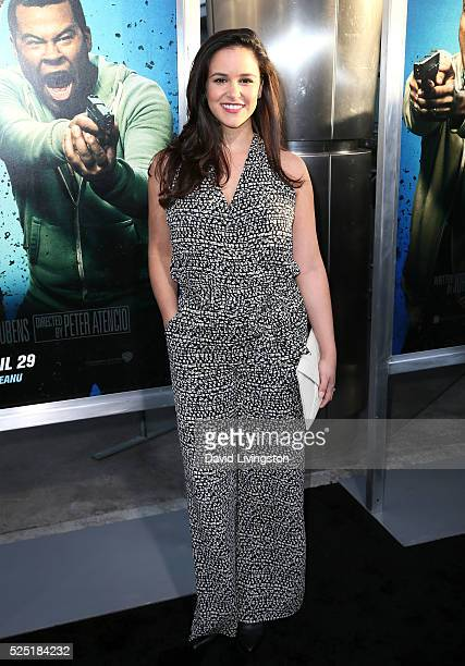 """Actress Melissa Fumero attends a special presentation of Warner Bros.' """"Keanu"""" at ArcLight Cinemas Cinerama Dome on April 27, 2016 in Hollywood,..."""