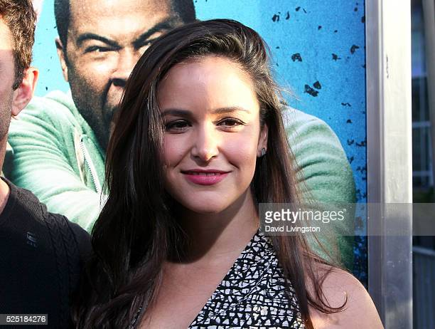 Actress Melissa Fumero attends a special presentation of Warner Bros' Keanu at ArcLight Cinemas Cinerama Dome on April 27 2016 in Hollywood California