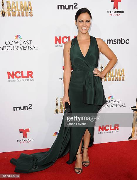 Actress Melissa Fumero attends the 2014 NCLR ALMA Awards at Pasadena Civic Auditorium on October 10 2014 in Pasadena California