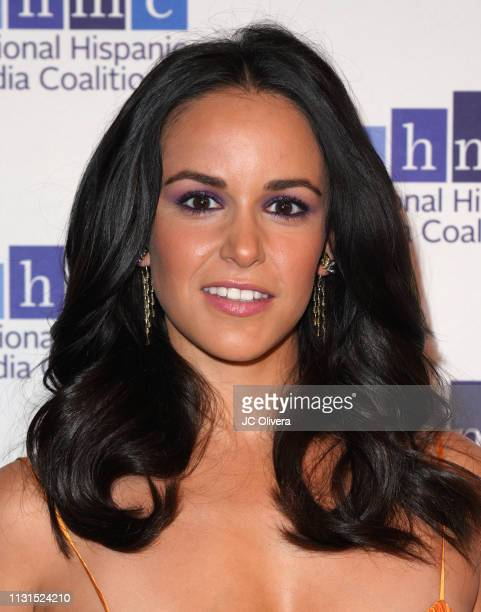 Actress Melissa Fumero attends the 22nd Annual National Hispanic Media Coalition Impact Awards Gala at Regent Beverly Wilshire Hotel on February 22...