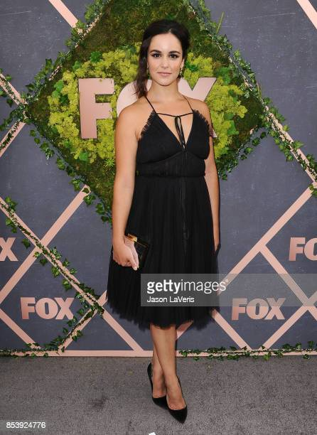 Actress Melissa Fumero attends the FOX Fall Party at Catch LA on September 25 2017 in West Hollywood California