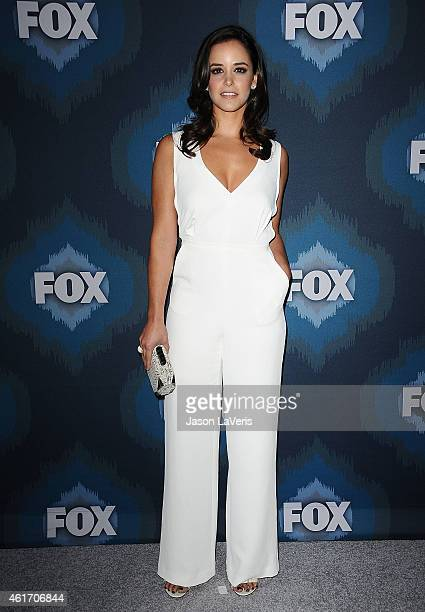 Actress Melissa Fumero attends the FOX winter TCA All-Star party at Langham Hotel on January 17, 2015 in Pasadena, California.