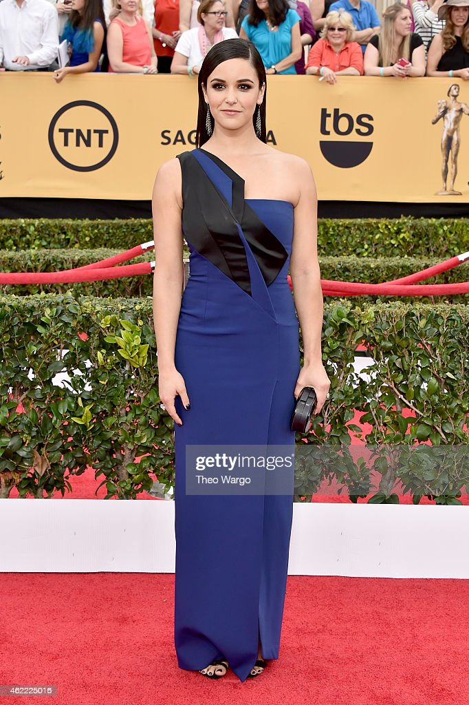 Actress Melissa Fumero attends TNT's 21st Annual Screen Actors Guild Awards at The Shrine Auditorium on January 25, 2015 in Los Angeles, California. 25184_018