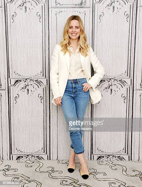 Actress Melissa George attends AOL Build Speaker Series Melissa George 'Heartbeat' on May 09 2016 in New York City