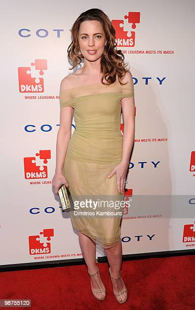 Actress Melissa George attends DKMS' 4th Annual Gala Linked Against Leukemia at Cipriani 42nd Street on April 29 2010 in New York City