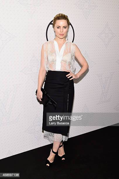 Actress Melissa George attends Louis Vuitton Monogram celebration at Museum of Modern Art on November 7 2014 in New York City