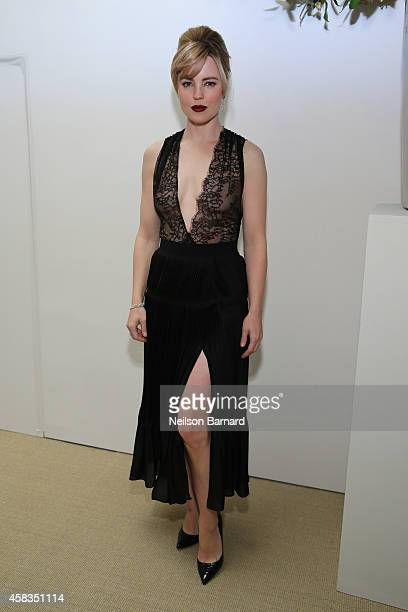 Actress Melissa George attends the 11th annual CFDA/Vogue Fashion Fund Awards at Spring Studios on November 3 2014 in New York City