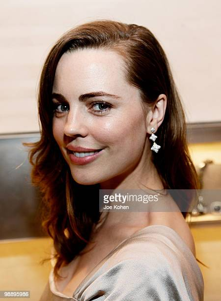 Actress Melissa George attends the 30th Anniversary celebration cocktail reception with Rebirth of NYC Flagship hosted by David Yurman and in...