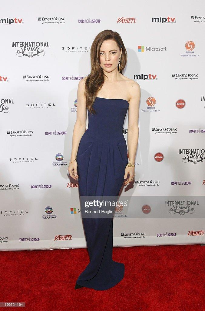 40th Annual International Emmy Awards - Arrivals : News Photo