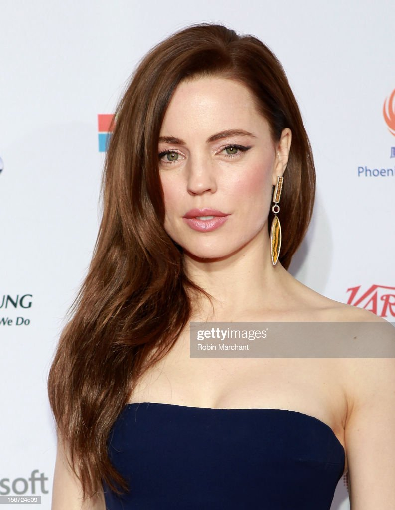 Actress Melissa George attends the 40th International Emmy Awards on November 19, 2012 in New York City.