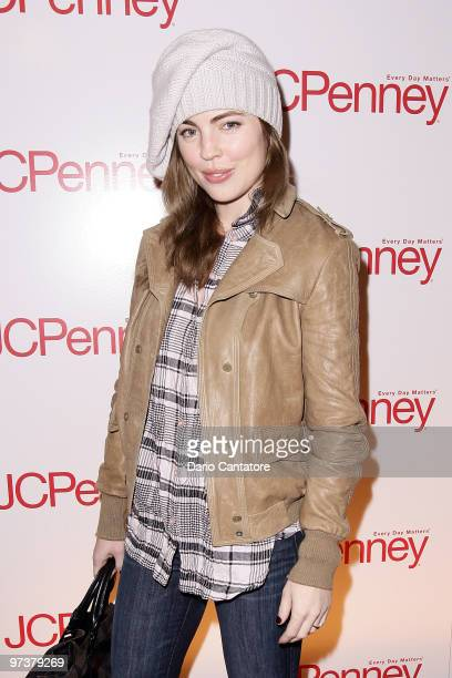 Actress Melissa George attends the JCPenney best of Spring showcase at Alice Tully Hall Lincoln Center on March 2 2010 in New York New York