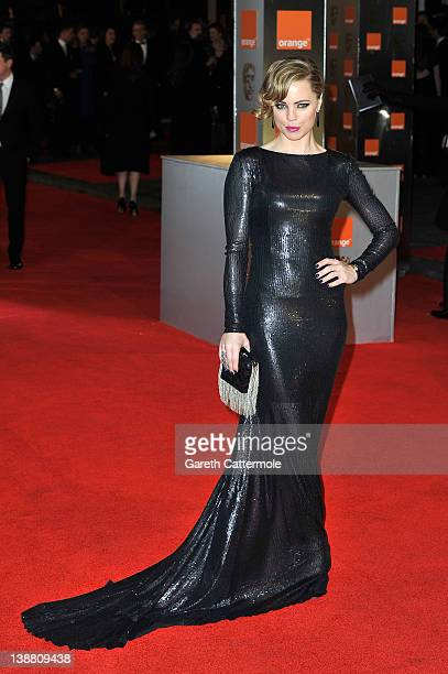 Actress Melissa George attends the Orange British Academy Film Awards 2012 at the Royal Opera House on February 12 2012 in London England
