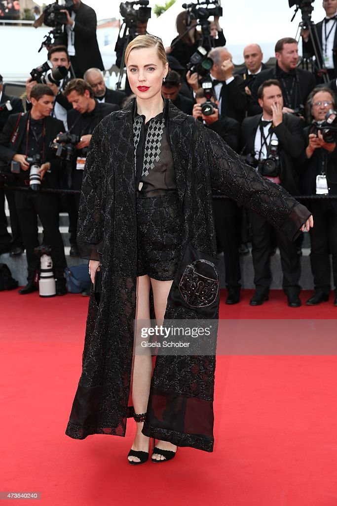 Actress Melissa George attends the Premiere of 'Irrational Man' during the 68th annual Cannes Film Festival on May 15, 2015 in Cannes, France.