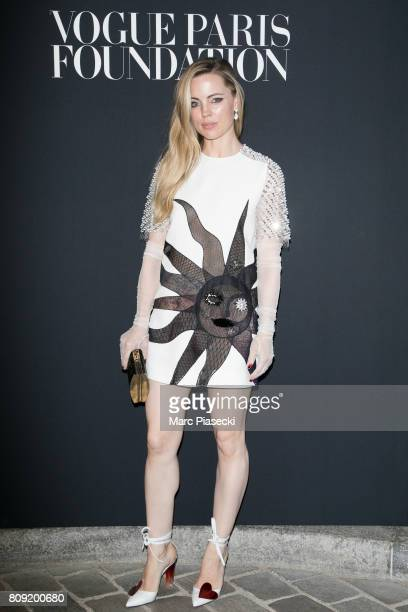 Actress Melissa George attends Vogue Foundation Dinner during Paris Fashion Week as part of Haute Couture Fall/Winter 20172018 at Musee Galliera on...