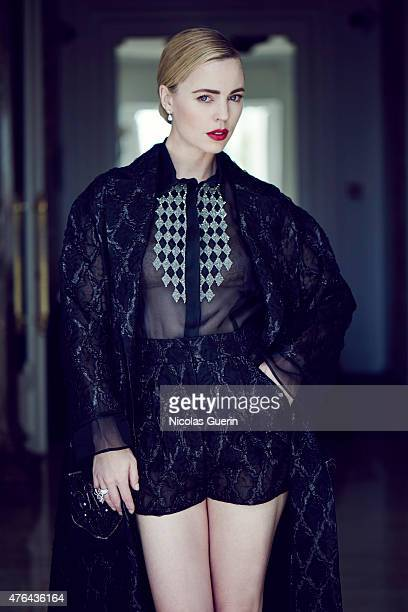 Actress Melissa George is photographed for Self Assignment on May 15 2015 in Cannes France