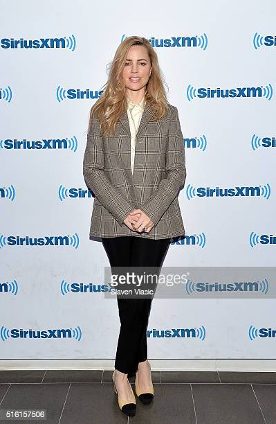 Actress Melissa George visits SiriusXM Studio on March 17 2016 in New York City