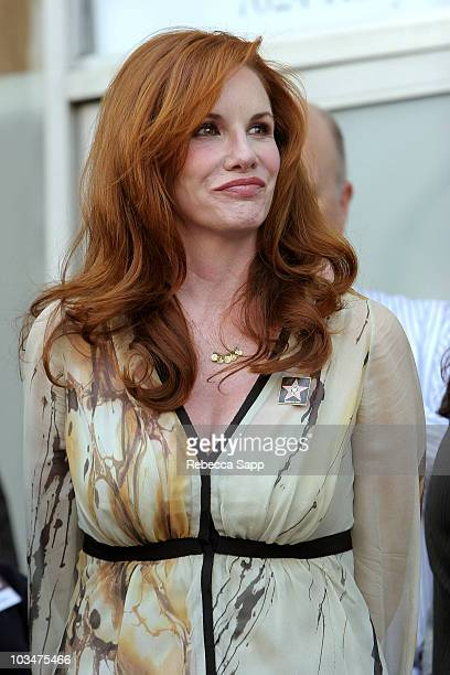Actress Melissa Gilbert at FORD at SAG Breakfast and Star Ceremony on October 25 2007 in Hollywood California