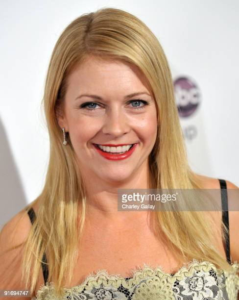Actress Melissa Joan Hart arrives at the 5th Annual GLSEN Respect Awards at the Beverly Hills Hotel on October 9 2009 in Beverly Hills California