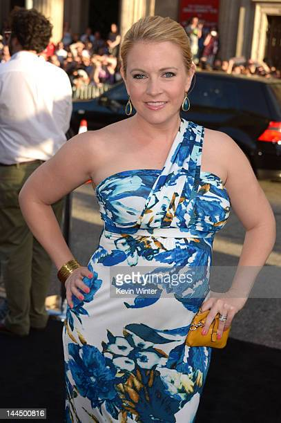 Actress Melissa Joan Hart arrives at the premiere of Lionsgate's What To Expect When You're Expecting held at Grauman's Chinese Theatre on May 14...