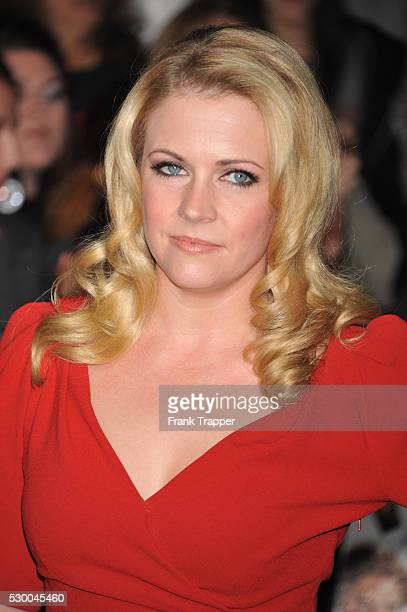 Actress Melissa Joan Hart arrives at the world premiere of The Twilight Saga Breaking Dawn Part 1 held at the Nokia Theater LA Live