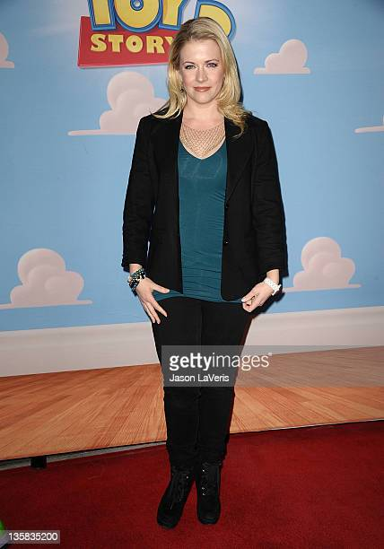 Actress Melissa Joan Hart attends Disney On Ice presents Disney Pixar's Toy Story 3 at Nokia Plaza LA LIVE on December 14 2011 in Los Angeles...