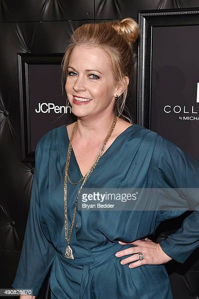 Actress Melissa Joan Hart attends JCPenney and Michael Strahan's launch of Collection by Michael Strahan on September 30 2015 in New York City