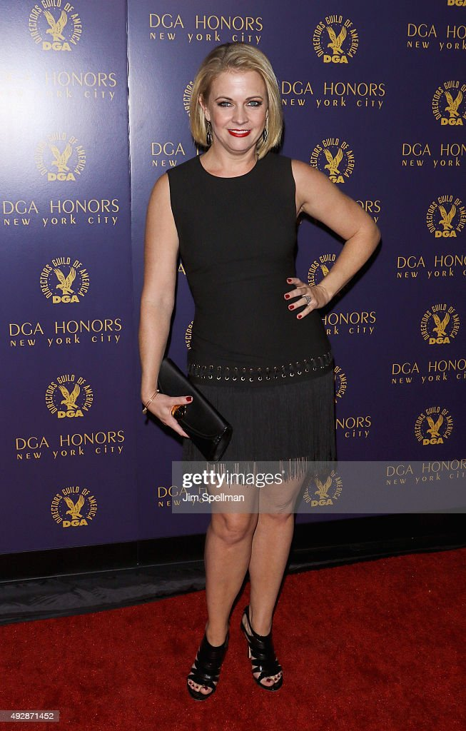 Actress Melissa Joan Hart attends the DGA Honors Gala 2015 at the DGA Theater on October 15, 2015 in New York City.