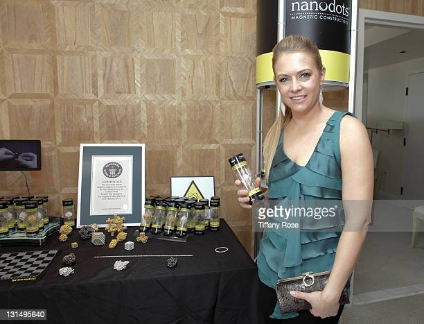 Actress Melissa Joan Hart attends the GBK Golden Globe Gift Lounge at The London Hotel on January 15 2011 in West Hollywood California