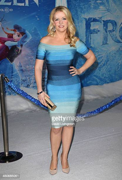 Actress Melissa Joan Hart attends the premiere of Walt Disney Animation Studios' Frozen at the El Capitan Theatre on November 19 2013 in Hollywood...