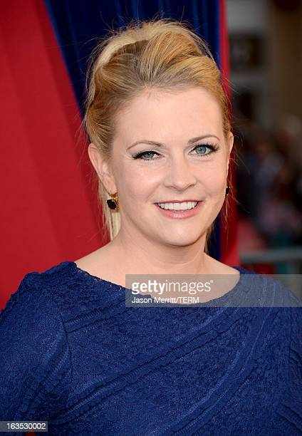 Actress Melissa Joan Hart attends the premiere of Warner Bros Pictures' The Incredible Burt Wonderstone at TCL Chinese Theatre on March 11 2013 in...