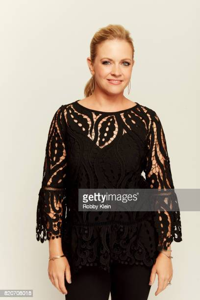Actress Melissa Joan Hart from The Watcher in the Woods poses for a portrait during ComicCon 2017 at Hard Rock Hotel San Diego on July 20 2017 in San...