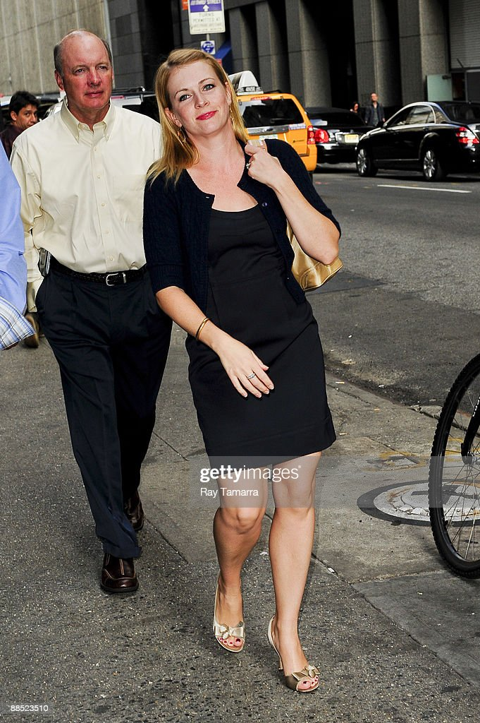 Actress Melissa Joan Hart walks in Midtown Manhattan on June 16, 2009 in New York City.