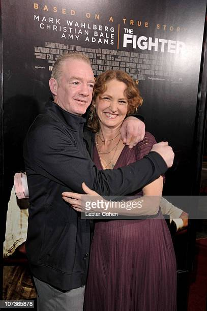Actress Melissa Leo and Dicky Eklund arrive at The Fighter Los Angeles premiere held at the Grauman's Chinese Theatre on December 6 2010 in Hollywood...