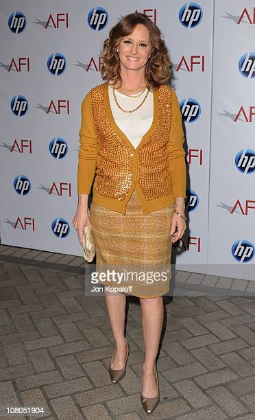 Actress Melissa Leo arrives at the 2011 AFI Awards at The Four Seasons Hotel on January 14, 2011 in Beverly Hills, California.
